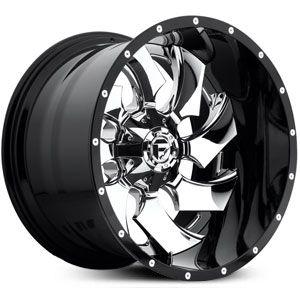 Fuel D240 Cleaver Chrome & Gloss Black
