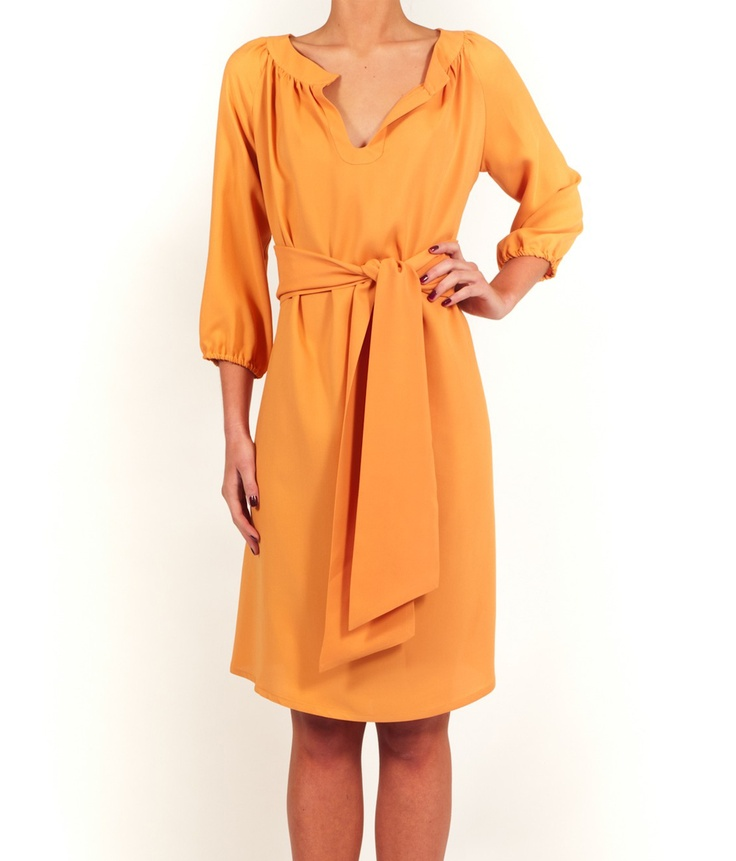 Fina Du » Hilla Silk Crepe Dress