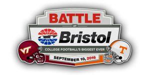 Virginia Tech VS Tenn Battle @ Bristol!