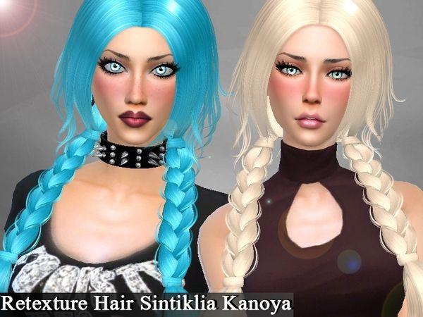 The Sims Resource: Sintiklia`s Kanoya hair retextured by Genius666 - Sims 4 Hairs - http://sims4hairs.com/the-sims-resource-sintiklias-kanoya-hair-retextured-by-genius666/