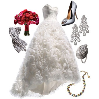 Love my friend Lisa Gooder's picks! She is so good at her job!   Style Inspiration: Ballroom Wedding | Wedding Dresses & Style | Brides.com