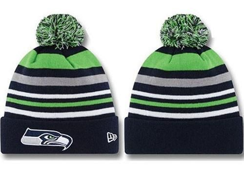 Seattle Seahawks Logo Stitched Knit Beanies ( 043)