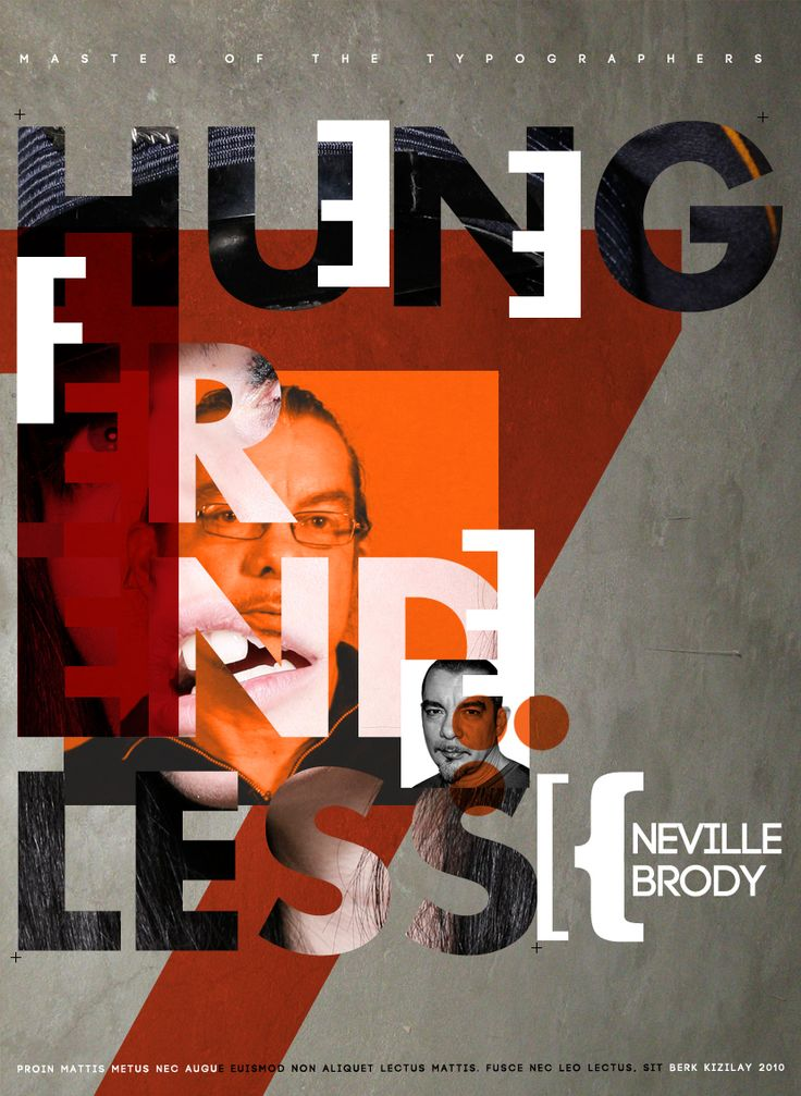 Brody #poster #graphicdesign #typography