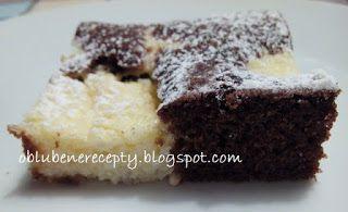 Obľúbené recepty: Tvarohovo-kakaový zákusok