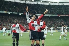 Julio Ricardo Cruz, oftewel El Jardinero. Nog steeds de laatste spits die met Feyenoord kampioen werd in 1999.