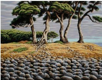 New Zealand artist Don Binney