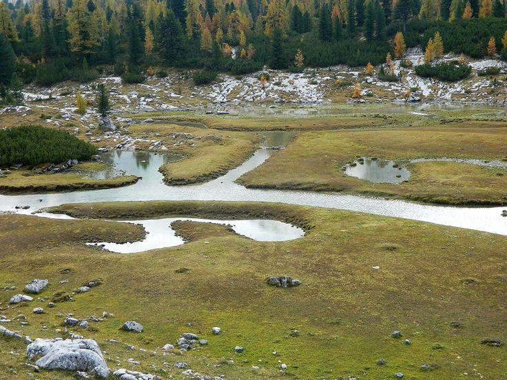 Parco di Fannes. Sudtirol.