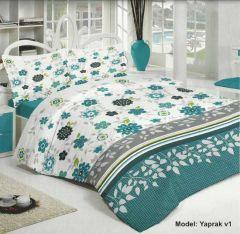 Yatak odalarınız Nevsan nevresim takımları ile artık çok daha canlı, çok daha renkli oluyor. Çift Kişilik Nevresim, çarşaf ve iki yastık klıfından oluşan sette kanserojen içermeyen boya maddesi kullanılmış.