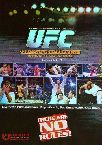 Ultimate Fighting Championship Classics Collection, Vol. 1-4 [4 Discs] [DVD]
