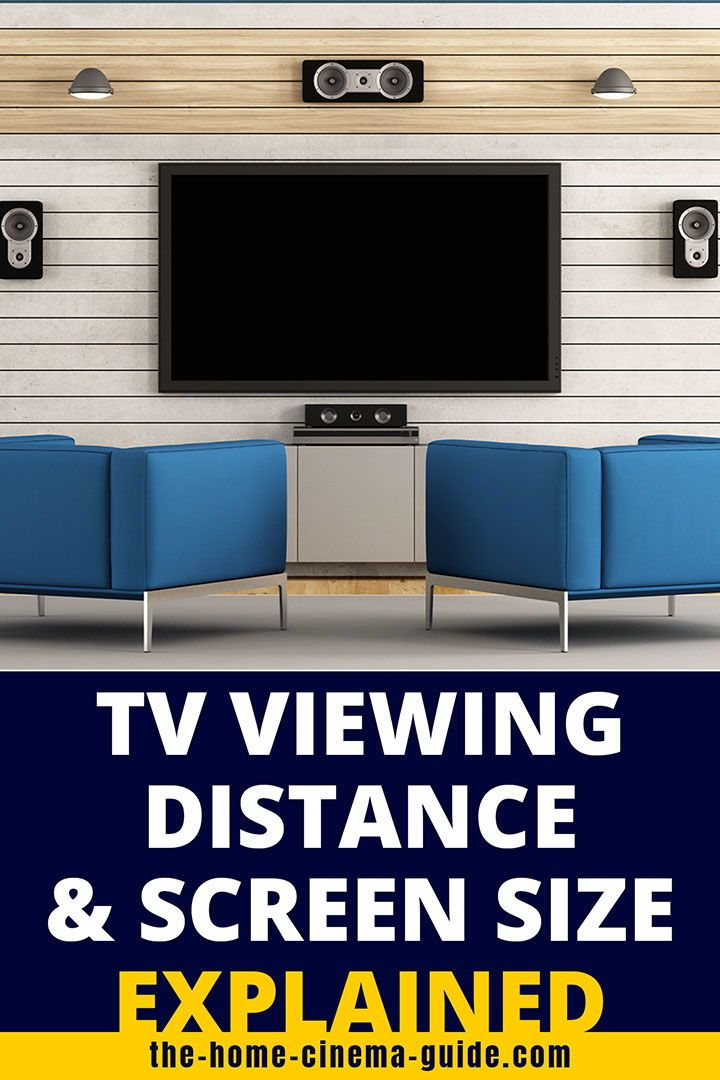 Understanding Tv Viewing Distance And Hdtv Sizes In 2020 Tv Viewing Distance Tv Distance Tv Size
