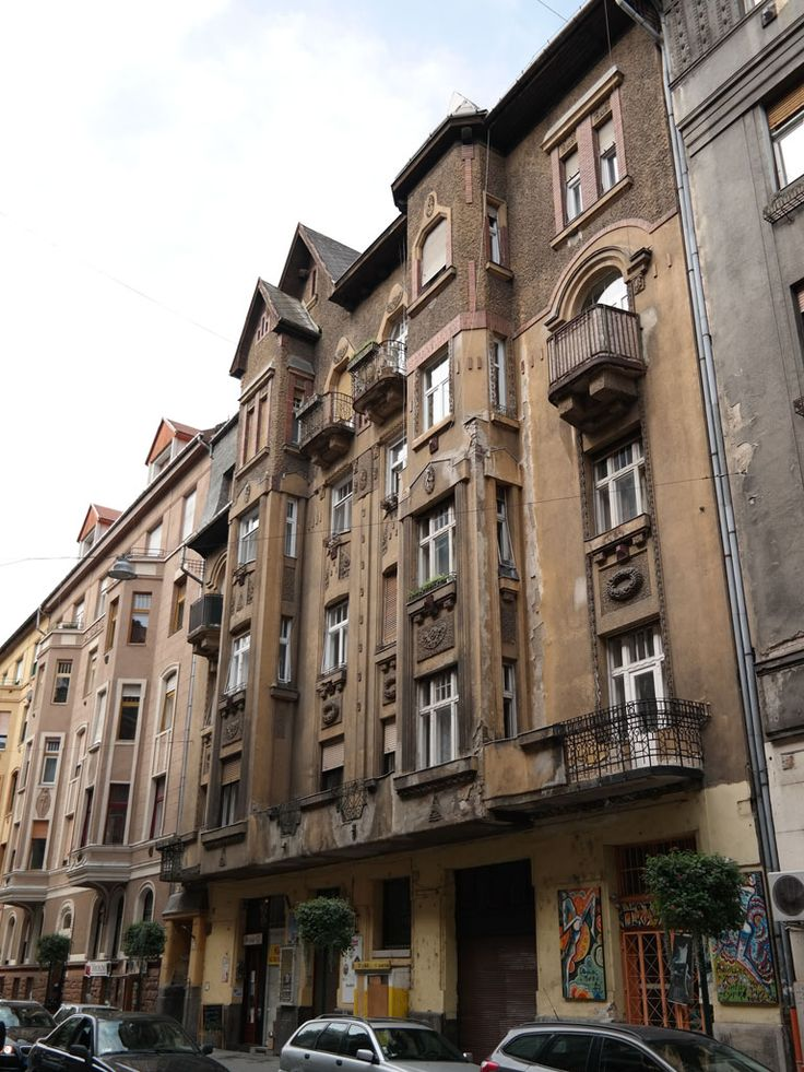Budapest, Hegedűs Gyula utca 32 (1912, arch. István Vermes), fot. FK