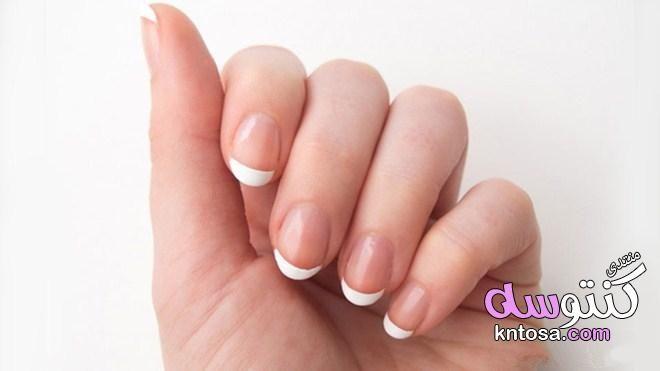 كيفية عمل مناكير فرنسي بالخطوات في المنزل Silver French Manicure French Manicure French Manicure Designs