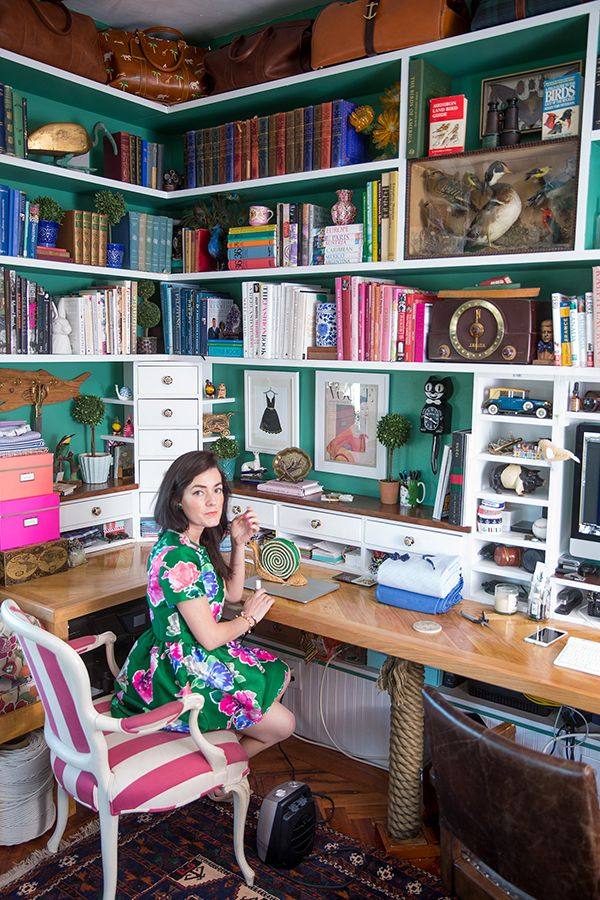 Office Tour: Sarah Vickers Of Classy Girls Wear Pearls