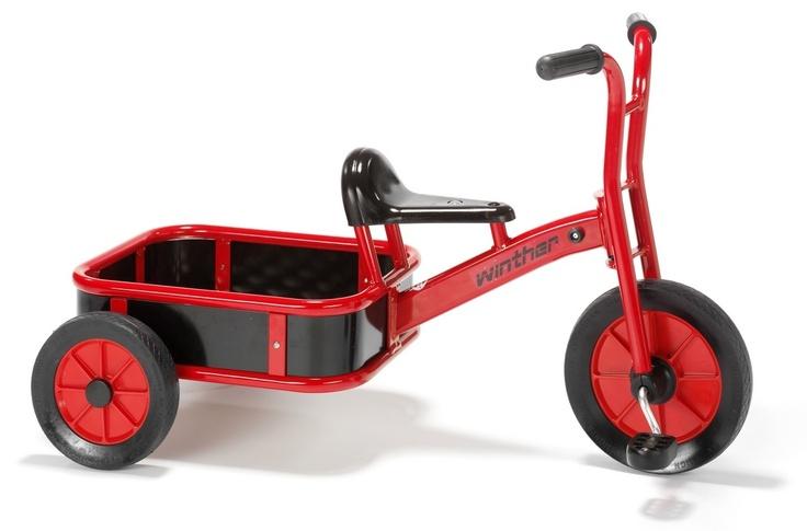 Tricycle cargo kids bike