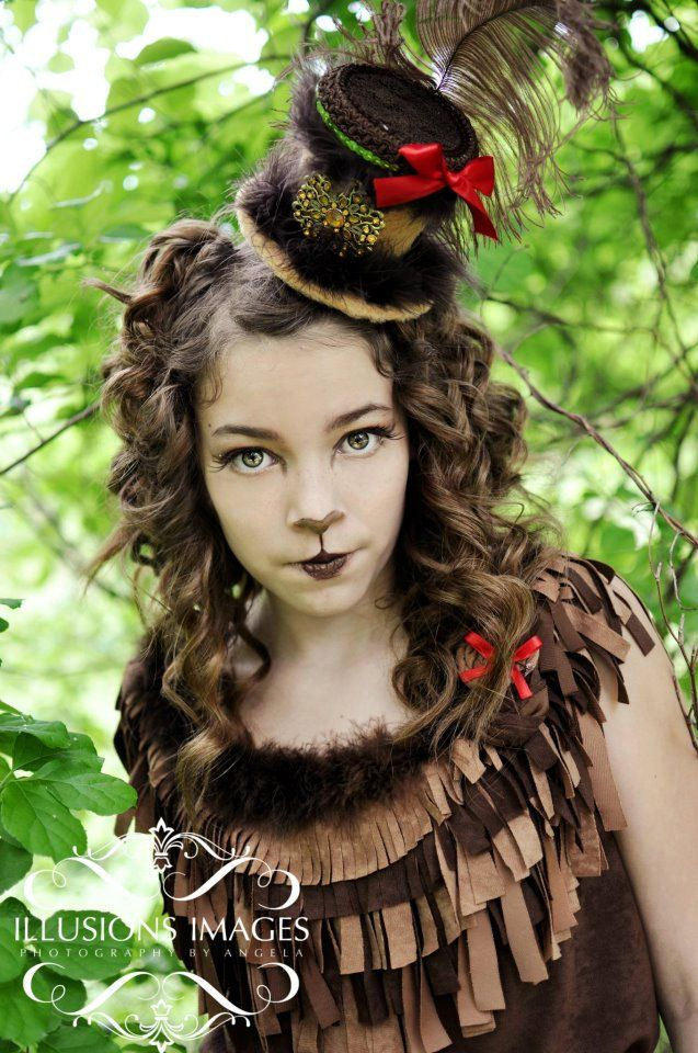 What do you guys think? I hope that this is what my Holloween costum makup will look like! (I am being the cowardly loin)