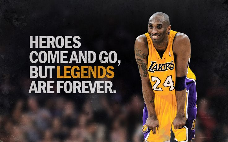 Kobe Bryant isn't just a hero, he is a legend.