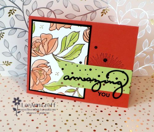 Springtime Foils Blends resist video from Flowerbug's Inkspot Get your Free designer paper now!