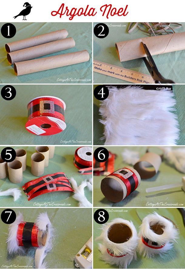 argola de guardanapo, decoração de natal, porta guardanapo, feliz natal, napkin decor