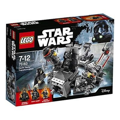 Chollo en Amazon España: Playset LEGO Star Wars de la transformación de Darth Vader por solo 17,40€ (un 42% de descuento sobre el precio de venta recomendado y precio mínimo histórico)