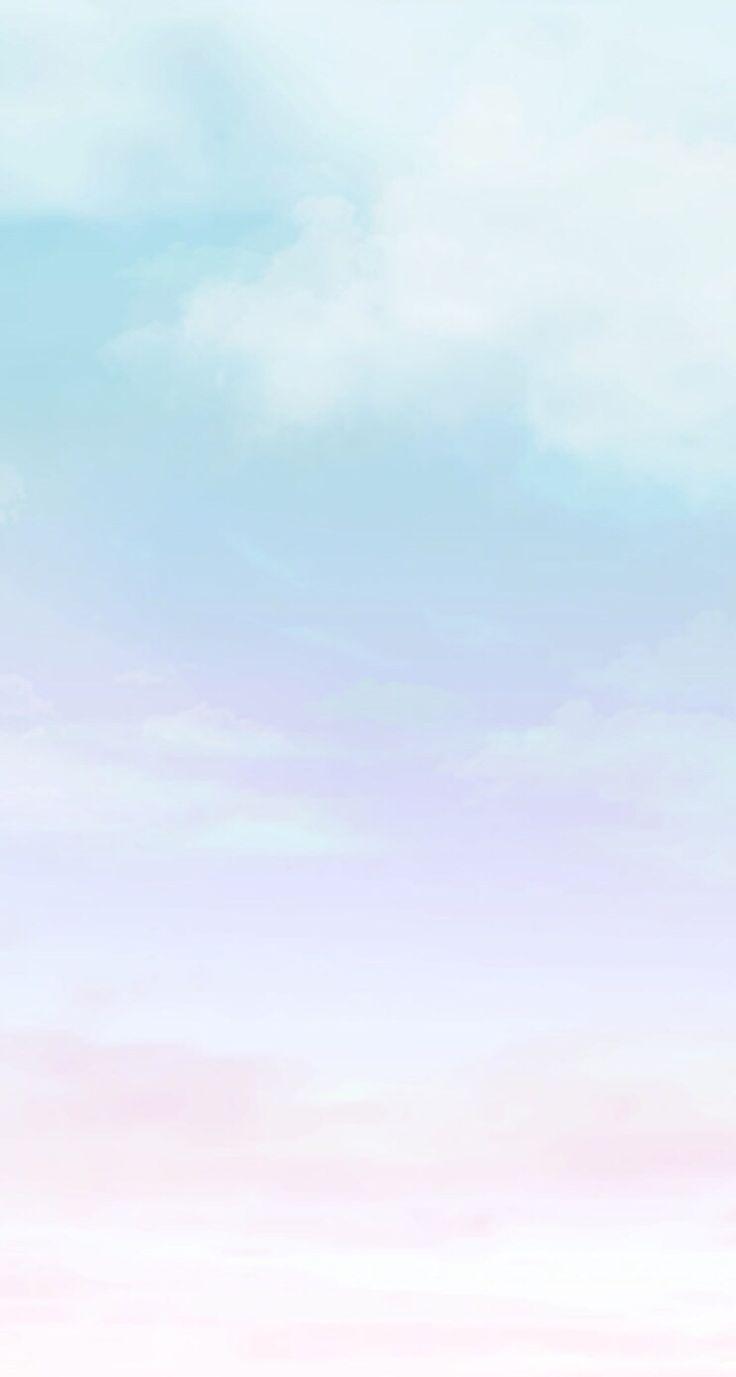 Blue sky line iphone wallpaper