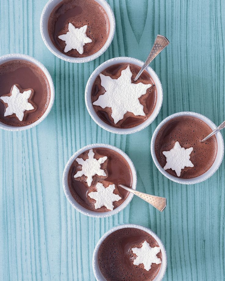 Float these snowflake-shaped marshmallows in cups of hot chocolate. Get the Marshmallow Snowflakes How-To.