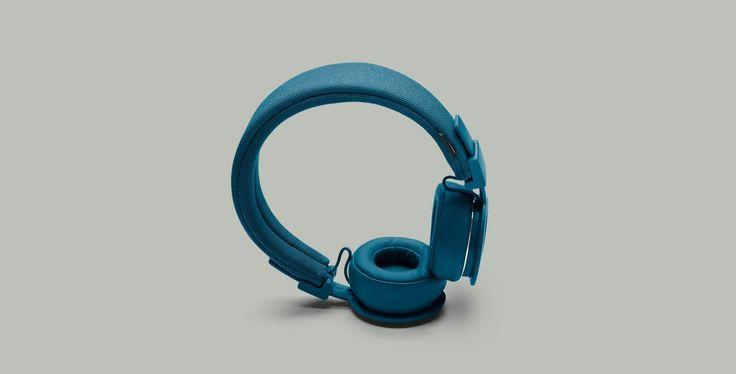 Urbanears Plattan ADV Wireless Indigo | Blue headphones left