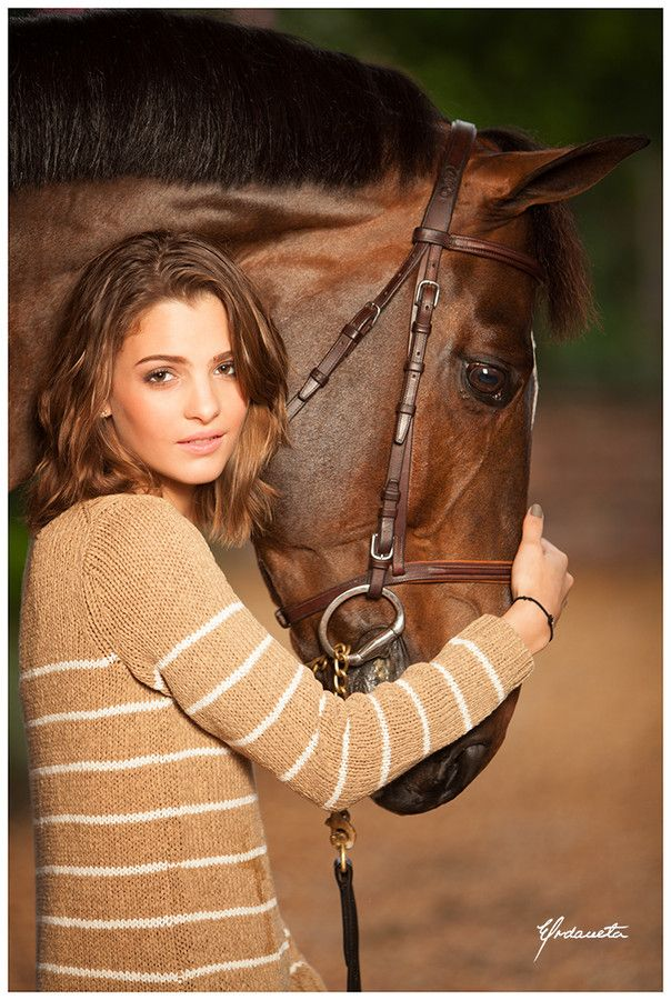 After a Jumping session with her Horse by Enrique Urdaneta-Alamo on 500px