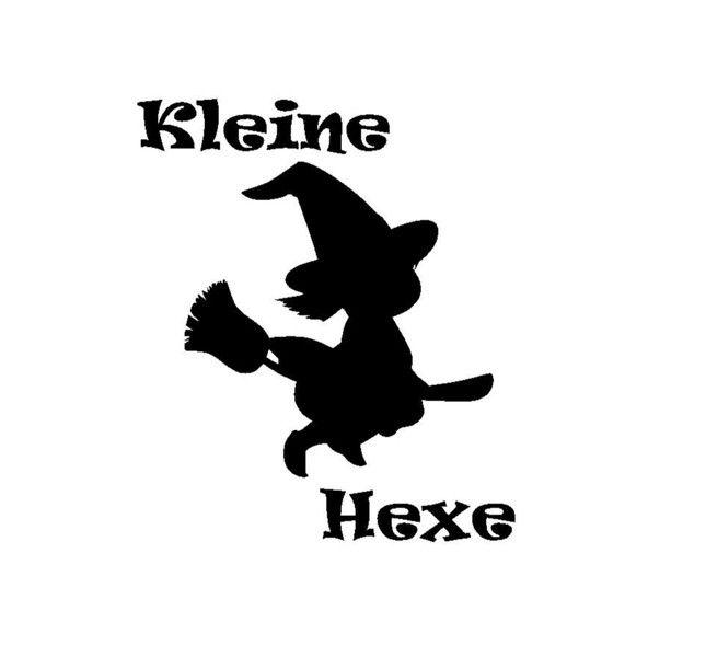 Bügelbild+Kleine+Hexe+von+Folienschnitt+auf+DaWanda.com