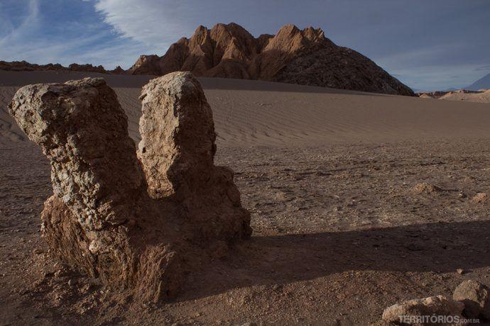Valle de la Luna e suas formações rochosas