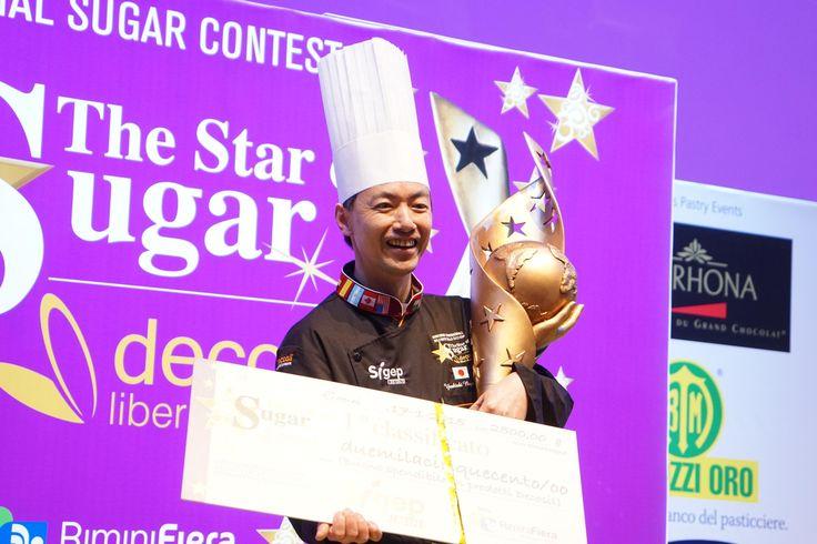 Yoshiaki Nagamune - Vincitore di The Star of Sugar di decosil 2015