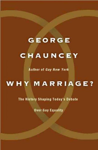 The history of gay marriage issue