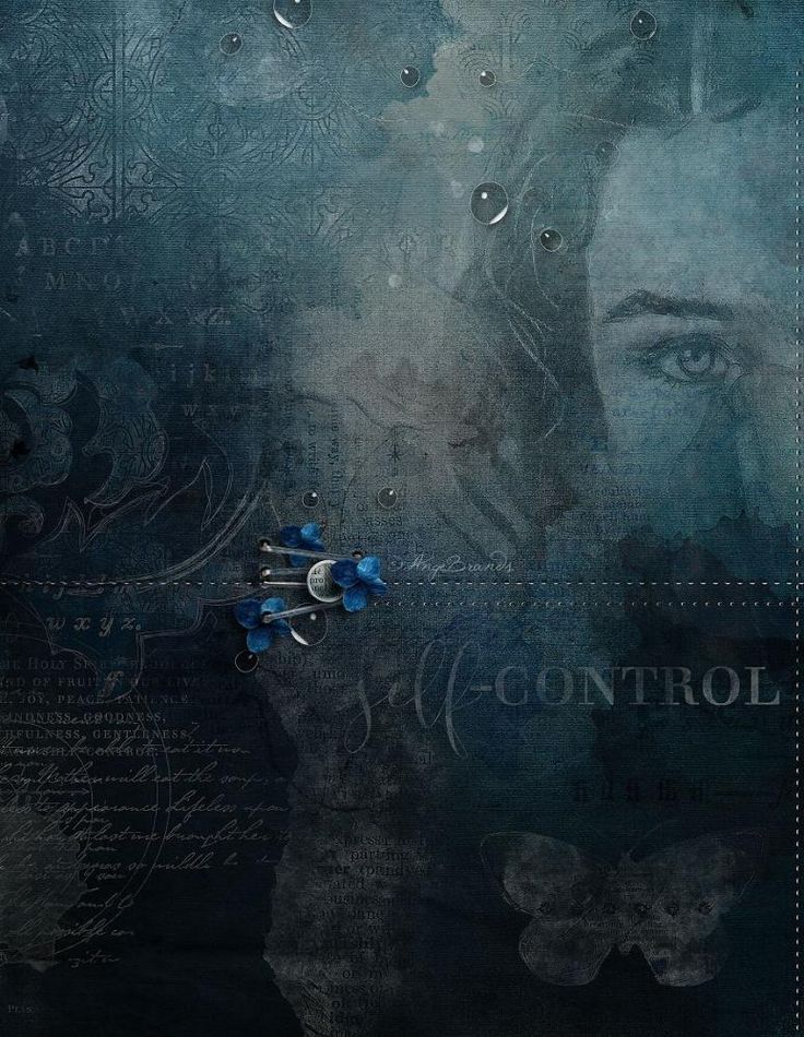 SELF-CONTROLE!!! Faithbooking Self-Control by Jen Maddocks Designs