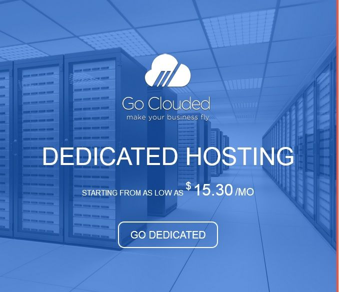 GoClouded are sweden's most well-known dedicated server hosting providers offers the best, reliable and effective dedicated server hosting plans. So, you can choose the package as per your needs and budget. Read More: https://www.goclouded.com/dedicated-server.html