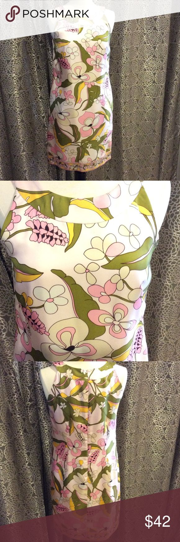 Donna Morgan dress Donna Morgan silk floral dress. Sleeveless, knee length. Donna Morgan Dresses