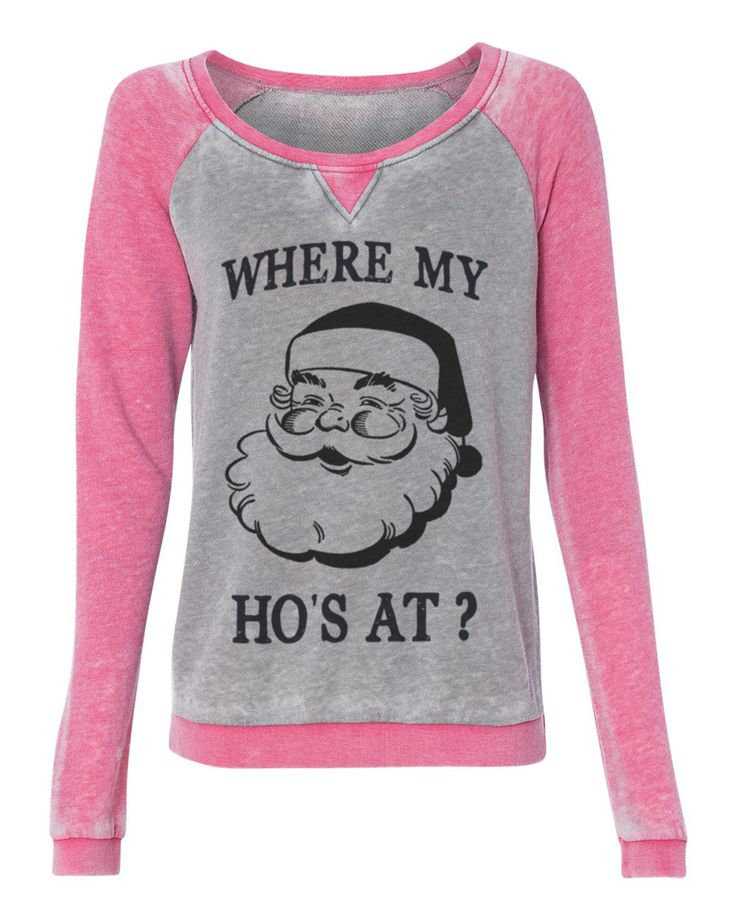 Holiday Ugly Christmas Sweater Where My Ho S At Funny