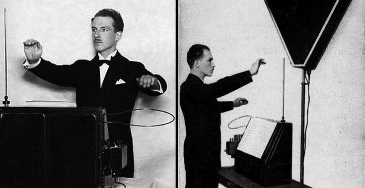 L'uomo che rese possibile suonare l'aria: breve storia di Léon Theremin.  #music