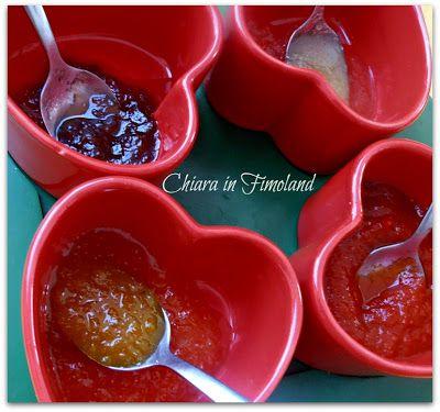 Tagliere estivo dolce-piccante #salse #sauces #lazzaris #mostarda