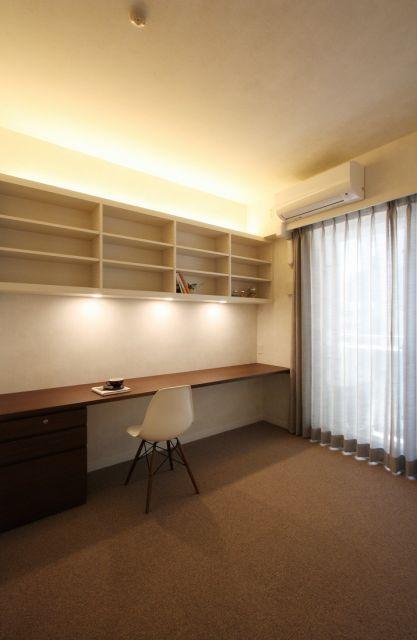 寝室の一角に書斎...|株式会社 アレックスの事例写真|リフォーム評価ナビ