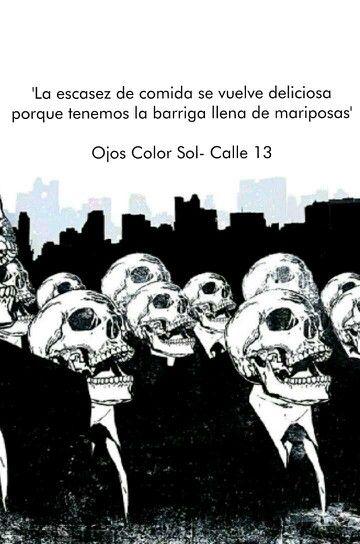 Ojos Color Sol - Calle 13
