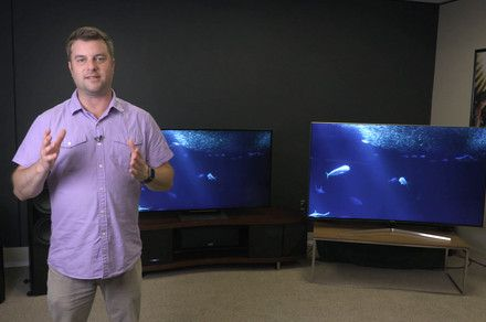 awesome Who makes the better flagship 4K TV? Samsung KS9800 vs. Sony X930D Check more at http://gadgetsnetworks.com/who-makes-the-better-flagship-4k-tv-samsung-ks9800-vs-sony-x930d/