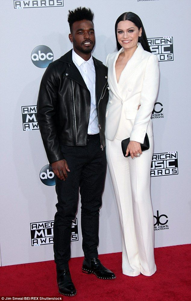 End of the road: Jessie J and Luke James have reportedly split amid fears 'he was just usi...