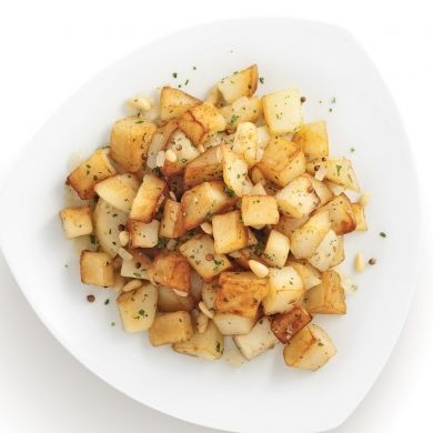 Pommes de terre sautées aux épices et noix de pin - Recettes - Cuisine et nutrition - Pratico Pratique