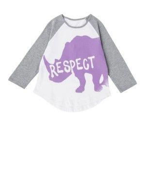 Rhino Raglan T-shirt