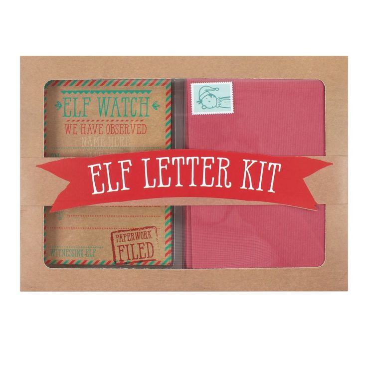 Christmas Elf Letter Kit Wholesale in 2020 Elf letters