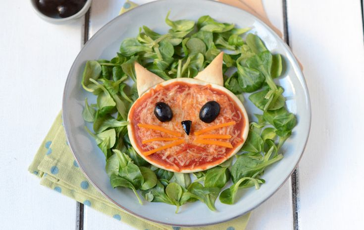 Pizza chat #recette #enfant