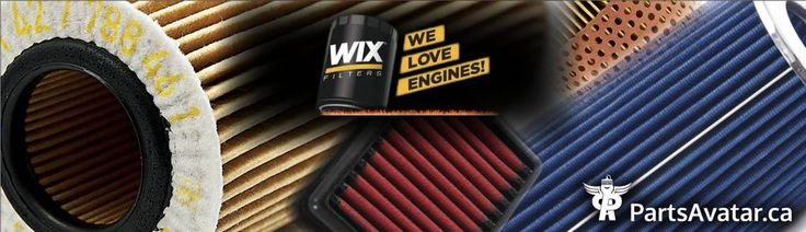 WIX is one of the world's top filtration manufacturers, producing quality products for the automotive, diesel, agricultural, industrial and specialty filter markets.  Huge Stock of filter by WIX for your automotive,light truck,or heavyduty Vehicles on PartsAvatar.ca and take advantage of its flawless performance.  Nevertheless, proper care and maintenance of the overall car is very important. If in case, some of your auto body parts are worn out