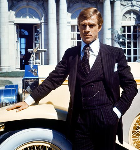 The Great Gatsby | Designer: Ralph Lauren Rumors of misplaced credit plagued Lauren once again, this time, for costumes worn by Robert Redford and the rest of the male…