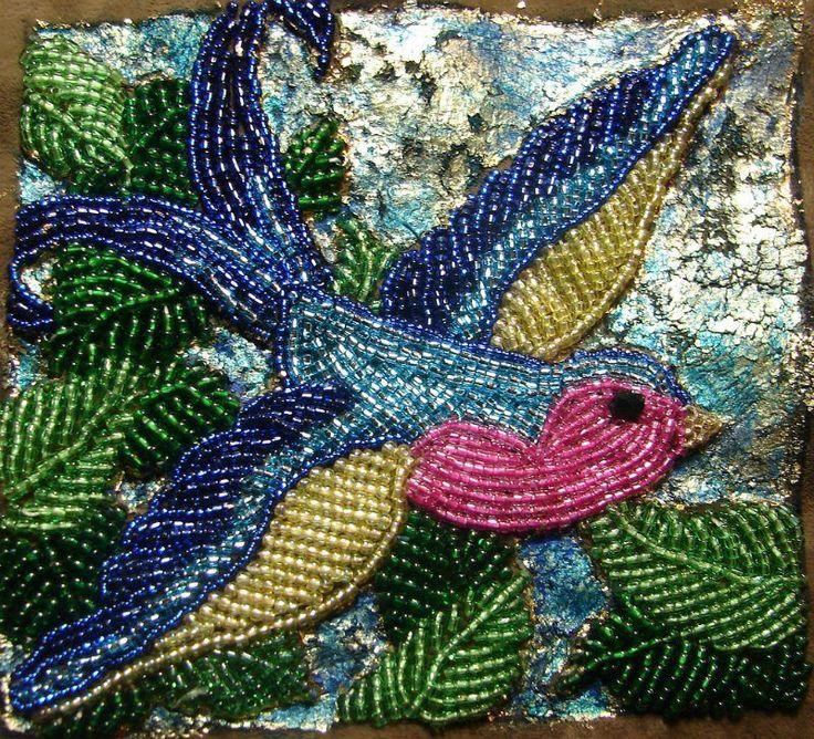 With Beads ~ Bird