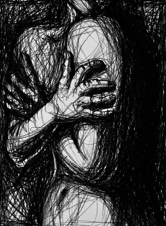 210 best images about Anxiety art on Pinterest