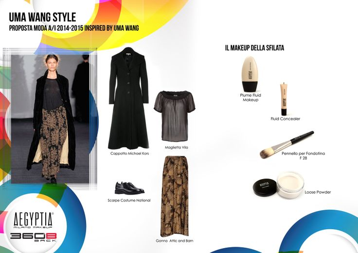 Proposta moda A/I 2014-2015 inspired by Uma Wang